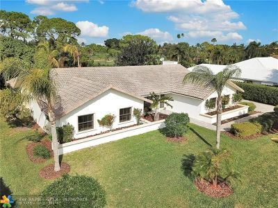 Boynton Beach Single Family Home For Sale: 4507 Pine Tree Dr