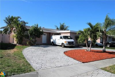 North Lauderdale Single Family Home For Sale: 313 SW 77th Ave