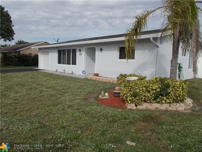 Tamarac Single Family Home For Sale: 8911 NW 80th Dr