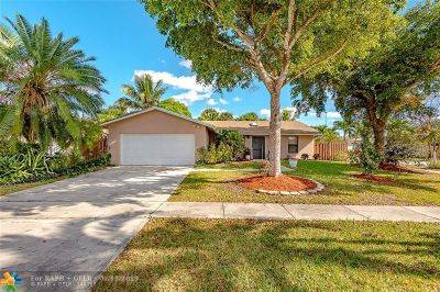 Lauderhill Single Family Home For Sale: 4710 NW 77th Ter