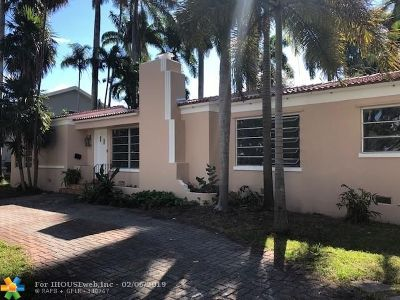 Hollywood Single Family Home For Sale: 1348 Van Buren St