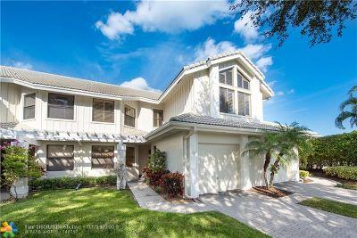 Boca Raton Condo/Townhouse For Sale: 17541 Ashbourne Way #D