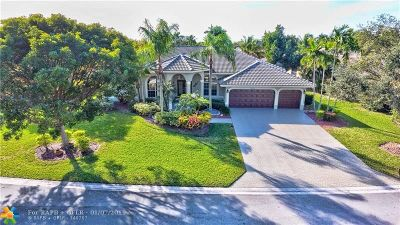 Coral Springs Single Family Home For Sale: 5054 Kensington Cir