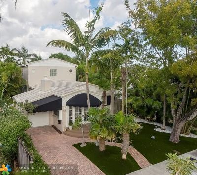 Fort Lauderdale Single Family Home For Sale: 1625 NE 5th Court