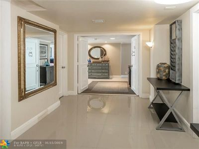 Fort Lauderdale Condo/Townhouse For Sale: 4300 N Ocean Bl #15L