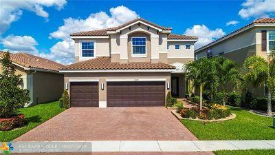 Boynton Beach Single Family Home For Sale: 11524 Mantova Bay Cir