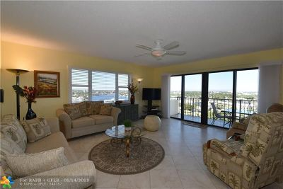 Pompano Beach Condo/Townhouse For Sale: 1200 Hibiscus Ave #1201