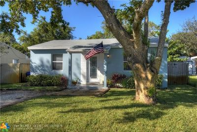 Fort Lauderdale Single Family Home For Sale: 1517 NW 6th Ave