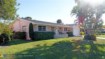 Coconut Creek Single Family Home For Sale: 4410 NW 9th Ct