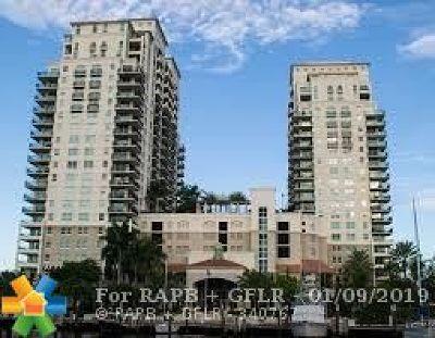 Fort Lauderdale Condo/Townhouse For Sale: 610 W Las Olas Blvd #316