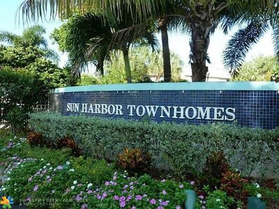 Pompano Beach Condo/Townhouse For Sale: 2533 NE 15th St #2533