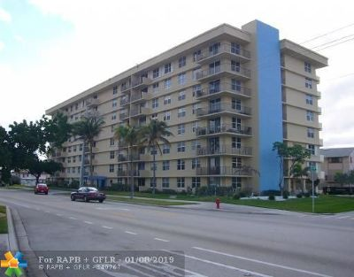 Pompano Beach Condo/Townhouse For Sale: 1009 N Ocean Blvd #306