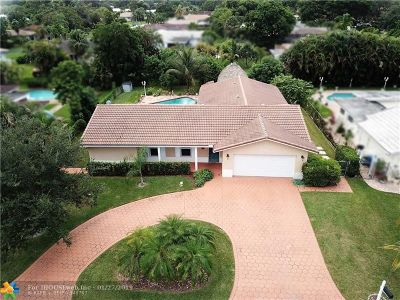 Coral Springs Single Family Home Backup Contract-Call LA: 4420 NW 105th Ter