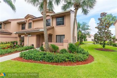 Plantation Condo/Townhouse For Sale: 10761 NW 14th St #280