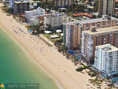 Pompano Beach Condo/Townhouse For Sale: 1000 S Ocean Blvd #14K