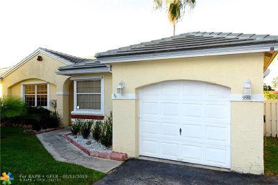 Plantation Single Family Home Backup Contract-Call LA: 9981 NW 9th Ct