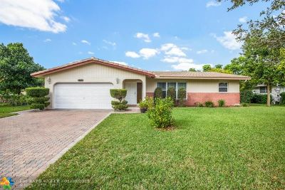 Coral Springs Single Family Home For Sale: 3710 NW 114th Ln
