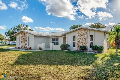 Coral Springs Single Family Home For Sale: 12043 NW 27th Dr