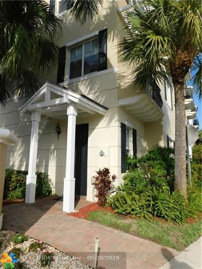 Boca Raton Condo/Townhouse For Sale: 3837 NW 5th Ter