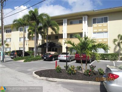 Fort Lauderdale Condo/Townhouse For Sale: 2881 NE 32nd St #312