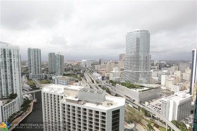 Miami Condo/Townhouse For Sale: 200 Biscayne Boulevard Way #3512