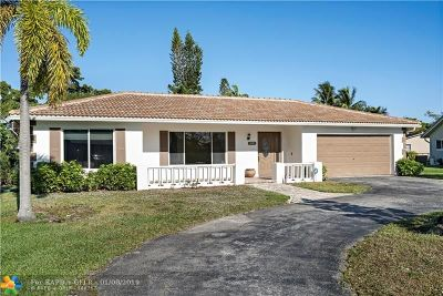 Coral Springs Single Family Home Backup Contract-Call LA: 10701 NW 43rd Ct