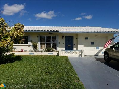Tamarac Single Family Home For Sale: 8703 NW 58th Pl