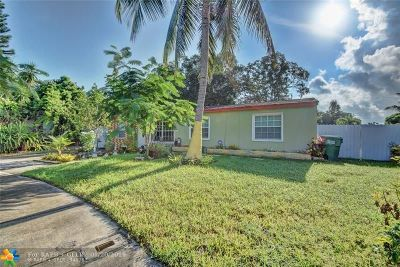 Fort Lauderdale Single Family Home For Sale: 2240 SW 43 Way