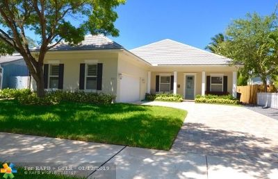 Fort Lauderdale Single Family Home For Sale: 517 NE 11th Ave