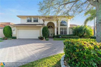 Coconut Creek Single Family Home For Sale: 4280 NW 53rd Ct
