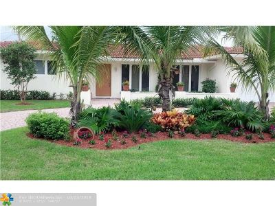 Fort Lauderdale Single Family Home For Sale: 4159 NE 28th Ave