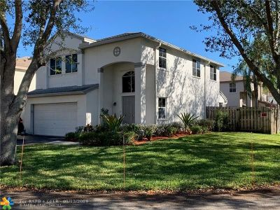 Coconut Creek Single Family Home For Sale: 1442 NW 48th Ave