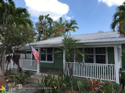Fort Lauderdale Single Family Home For Sale: 812 NE 16th Ave