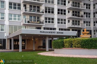 Pompano Beach Condo/Townhouse For Sale: 405 N Ocean Blvd #1128