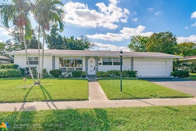 Plantation Single Family Home For Sale: 4500 NW 3rd Pl