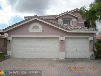 Coral Springs Single Family Home For Sale: 5402 NW 120th Ave