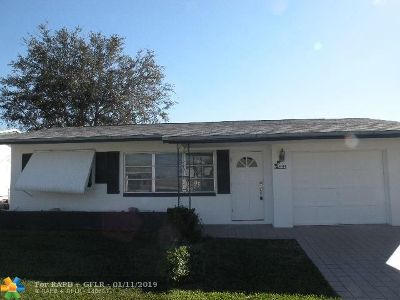 Tamarac Single Family Home For Sale: 4314 NW 47th St
