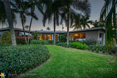 Fort Lauderdale Single Family Home For Sale: 1712 Poinsettia Dr