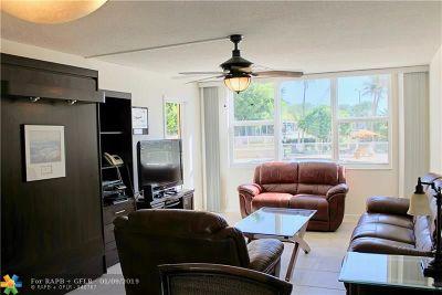 Pompano Beach Condo/Townhouse For Sale: 201 N Ocean Blvd #106