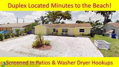 Deerfield Beach Multi Family Home For Sale: 1477 SE 4th Ave
