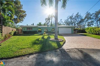 Fort Lauderdale Single Family Home For Sale: 5811 NE 14th Ln