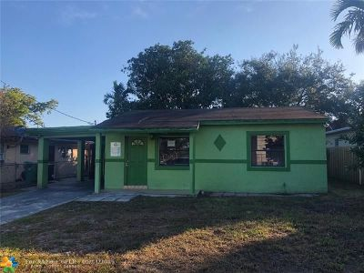 Dania Beach Single Family Home For Sale: 14 NW 7th Ave