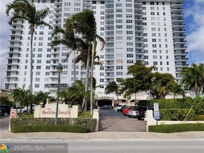 Fort Lauderdale Condo/Townhouse For Sale: 3015 N Ocean Blvd #15D