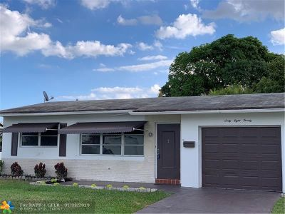 Margate Single Family Home For Sale: 6820 NW 17th Ct