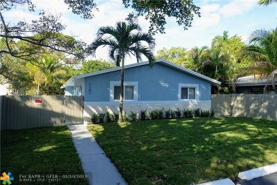 Fort Lauderdale Single Family Home For Sale: 1107 NW 7th Ave