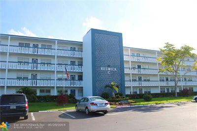 Deerfield Beach Condo/Townhouse For Sale: 456 Keswick C #456