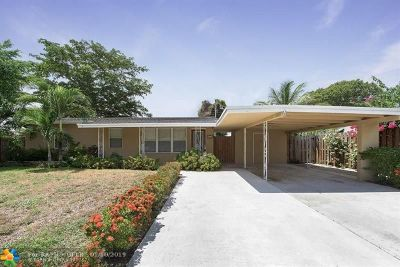 Wilton Manors Rental For Rent: 524 NE 27th Dr