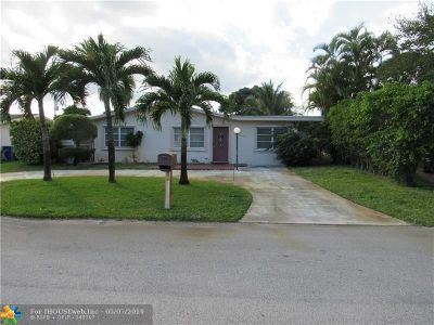 Fort Lauderdale Single Family Home For Sale: 1533 SW 29th Ter