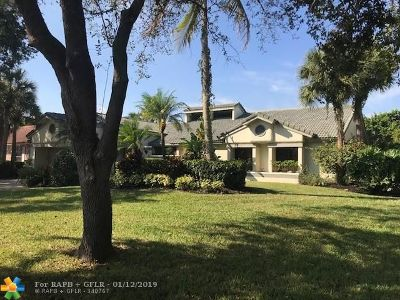 Coral Springs Single Family Home For Sale: 1232 NW 110th Ter