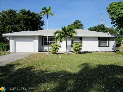 Deerfield Beach Single Family Home Backup Contract-Call LA: 538 SW Natura Ave